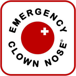 Emergency Clown Nose Logo